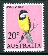 Australia 1966-73 Decimal Currency Definitives - 20c Golden Whistler MNH (SG 394) - Mint Stamps