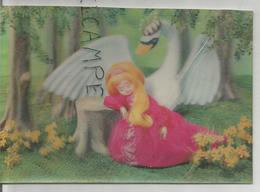 La Petite Fille Et Le Cygne N°2. Conte D'Andersen. - Cartes Stéréoscopiques