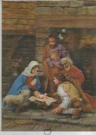 Sainte Famille à La Crèche. Bergers Et Agneau. - Cartes Stéréoscopiques