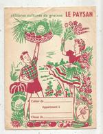 Protége Cahiers , Célébres Cultures De Graines LE PAYSAN ,  4 Scans, Frais Fr 1.75 E - Protège-cahiers