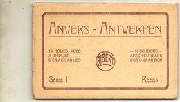 DEPLIANT  10 VUE D ANVERS....FRAIS DE PORT..2.60 EUROS - Antwerpen