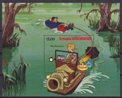 2507  Walt Disney  Grenada  Grenadines  The Rescuers  Christmas 1982 . - Grenade (1974-...)