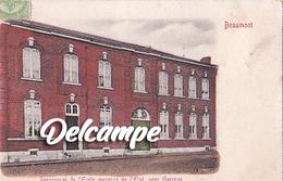 Beaumont - Pensionat De L'ecole Moyenne  De L'Elat, Pour Garçons - Beaumont