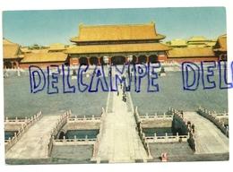 Chine. Tai Ho Men. Porte De La Suprême Harmonie Dans Les Anciens Palais Impériaux - Chine