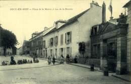 94 - SUCY En BRIE : PLACE DE LA MAIRIE ET RUE DE LA RECETTE / A 480 - Sucy En Brie