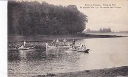 Forêt De Tronçais Etang De Pirot La Pêche Au Filet La Rentrée Des Pêcheurs - France