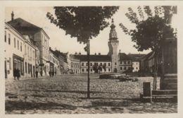 AK -  BOSKIVICE (Boskowitz) - Bürgerhäuser Am Oberen Ringplatz 1930 - Tschechische Republik