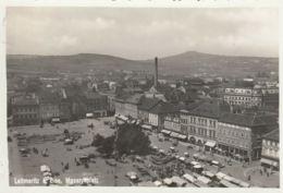 AK -  (Sudetenland) LEITMERITZ (Litomerice) - Markttag Am Masaryk-Platz 1938 - Tschechische Republik