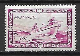 MONACO    -    1949.    Y&T N° 330 *.   Bateau  /  Harponnage  /  Pêche - Monaco