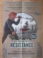 Affiche Les Enfants De La Résistance DUGOMIER Vincent Et ERS Benoit Le Lombard 2018 - Affiches & Offsets