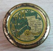 AC - KANSUK SEDATIVE PASTILLE ANTISEPTIC EMPTYVINTAGE MEDICINE TIN BOX - Matériel Médical & Dentaire