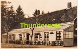 CPA PHOTO FOTOKAART FOTO CAFE STAD LOURDES MEERSEL DREEF - Hoogstraten