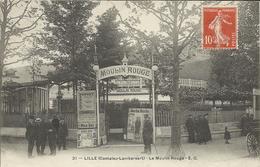 LILLE   ( Cantaleu - Lambersart )  -  LE  MOULIN - ROUGE - Lille