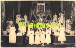 CPA CARTE DE PHOTO FOTOKAART DE KLINGE GEDENKENIS MISSIE 1955 SINT GILLIS WAAS CLINGE - Sint-Gillis-Waas