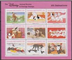 2514  Walt Disney  Grenada  Grenadines  101 Dalmations . - Grenade (1974-...)
