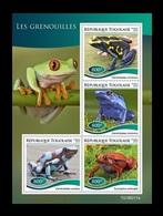 Togo 2019 Mih. 9770/73 Fauna. Frogs MNH ** - Togo (1960-...)