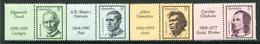 Australia 1968 Famous Australians - 1st Issue - Set LHM (SG 432-435) - Mint Stamps