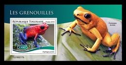 Togo 2019 Mih. 9774 (Bl.1735) Fauna. Frogs MNH ** - Togo (1960-...)
