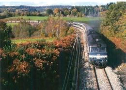 Ussel Cedex - En Provenance De La Courtine BB 67400   U 1143 - Trains