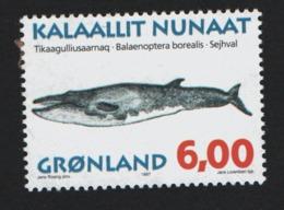 Groenland °° 1997 N* 287 Baleine - Groenland