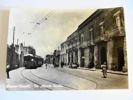 ARZANO  VIA ALFREDO PECCHIA  FILOTRAM TRAM TRAMWAY     NAPOLI  CAMPANIA   VIAGGIATA  COME DA FOTO - Altre Città