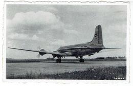 Avion / Airplane / SABENA - Voyages En Avion - Un Quadrimoteur Prêt à Prendre Son Vol - 1946-....: Ere Moderne