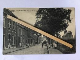 VIEUX-GENAPPE «Chaussée De Nivelles « Panorama Très Animée,attelage (1917) Édit A Lebon V.P.F - Genappe