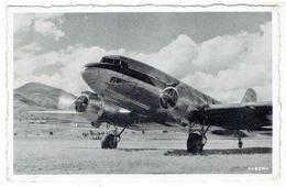 Avion / Airplane / SABENA - Voyages En Avion - Un Bimoteur Sabena Quitte Le Congo - 1946-....: Modern Era