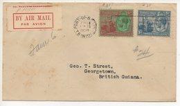 AIR MAIL LETTER 23 09 1929 #95 - Trinidad & Tobago (1962-...)