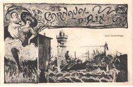 FR13 AIX EN PROVENCE - Carnaval 1912 - Joute Carnavalesque - Animée - Belle - Carnaval