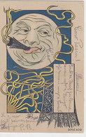 Der Mond - Signiert - 1906    (90701) - Altre Illustrazioni