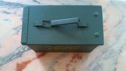 Vends Caisse Munitions Vide + Divers - Militaria