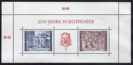 Austria 1976 / 200 Yahre Burgtheater / Theater Vienna - Cultures