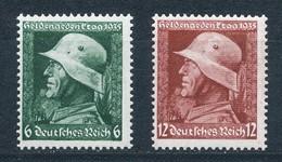 Deutsches Reich 569/70 Y ** Mi. 20,- - Germany