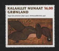 Groenland °° 1997 N* 291 Peintre Aage Guz  Johansen - Groenland