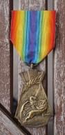 Médaille Aux Victimes Civiles De La Guerre 1914 -1918 - Belgique