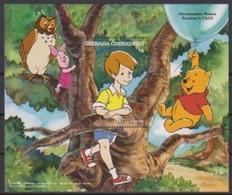 2521  Walt Disney  Grenada  Grenadines - Christopher Robin Sunday's Child . - Grenade (1974-...)