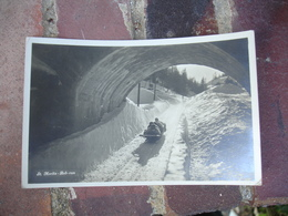 Saint Moritz  Bobsleigh - GR Grisons