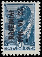 "Occupazione Tedesca In Lituania - Franc. Dell'USSR Soprastampato ""RASEINIAI - 1941. VI. 23."" / 30 K Blu Di Prussia (5A B - Besetzungen 1938-45"