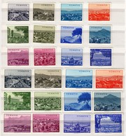 Turkey 1959 / Cities / MINT Mi 1635-1658 - Unused Stamps