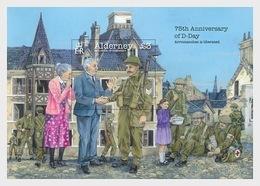 Alderney 2019 - 75th Anniversary Of D-Day Miniature Sheet Mnh - Alderney