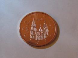 5 Euro Cent Spanien Spain Espagne 2015 UNC From Original Bag - Spanien
