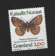 Groenland °° 1997 N* 278 Papillon - Groenland