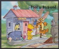 2524  Walt Disney  Grenada  Grenadines -  Pooh's Railroad . - Grenade (1974-...)