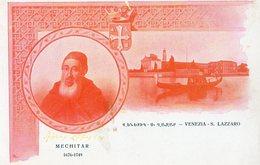 MECHITAR 1676  1749 - VENEZIA - SAN LAZZARO - NON VIAGGIATA - Ansichtskarten