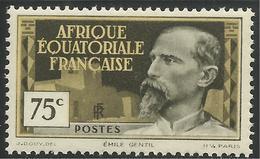 AFRIQUE EQUATORIALE FRANCAISE - AEF - A.E.F. - 1937 - YT 48** - A.E.F. (1936-1958)