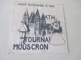 Autocollant ETAT MOYEN Géants Ath Tournai Mouscron - Stickers