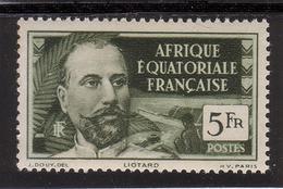 AFRIQUE EQUATORIALE FRANCAISE - AEF - A.E.F. - 1937 - YT 60** - MNH - A.E.F. (1936-1958)