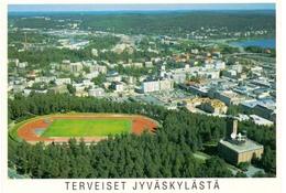 Postcard Stadium Jyvaskyla Finland Stadio Estadio Stade Sports Football Soccer - Fussball