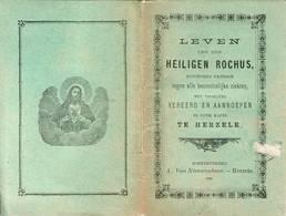 """Herzele """" Leven Van Den Heiligen Rochus - 1886 - - Livres, BD, Revues"""
